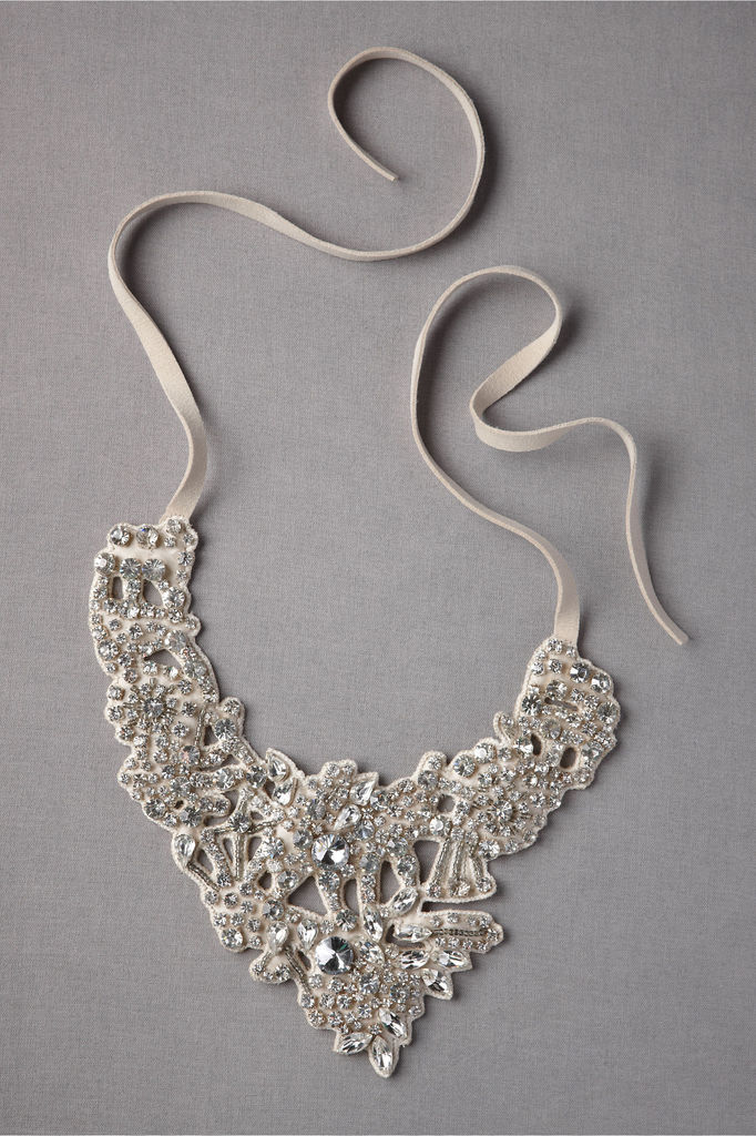 bhldn bride statement wedding necklace silver.large  2013 Top Jewelry Trends
