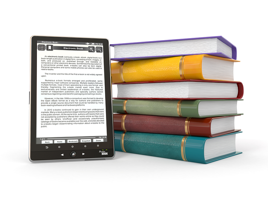 bigstock-E-book-reader-Books-and-table Latest Education Trends - What to Expect in Future
