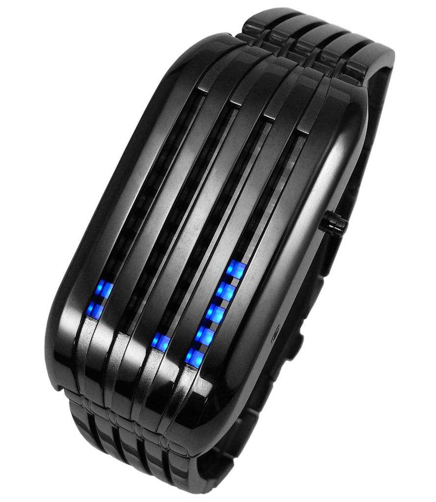 black-blue. How Will You Read These Encoded Watches?