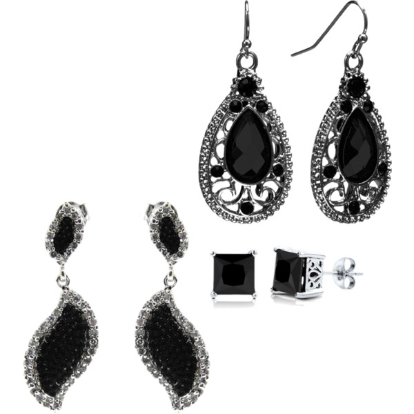 black earrings 2013 Top Jewelry Trends