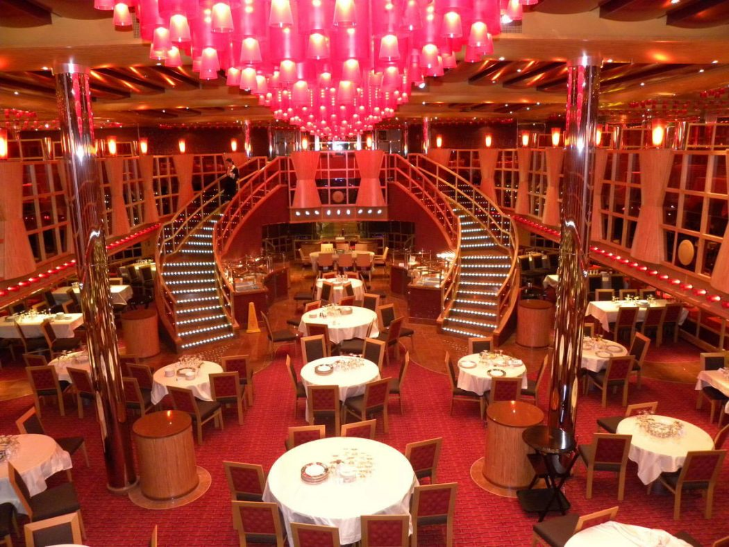 carnival-dream-crimson-best-restaurant-design Top 10 Most Inspiring Restaurant Interior Designs in The World