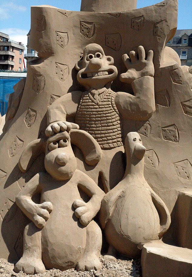 cartoon1 The Best 10 Videos and 30 images for Sand Art