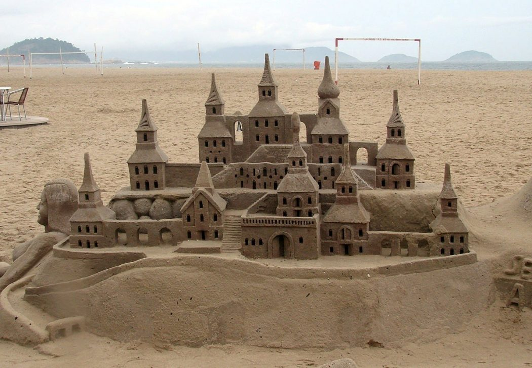 castle The Best 10 Videos and 30 images for Sand Art