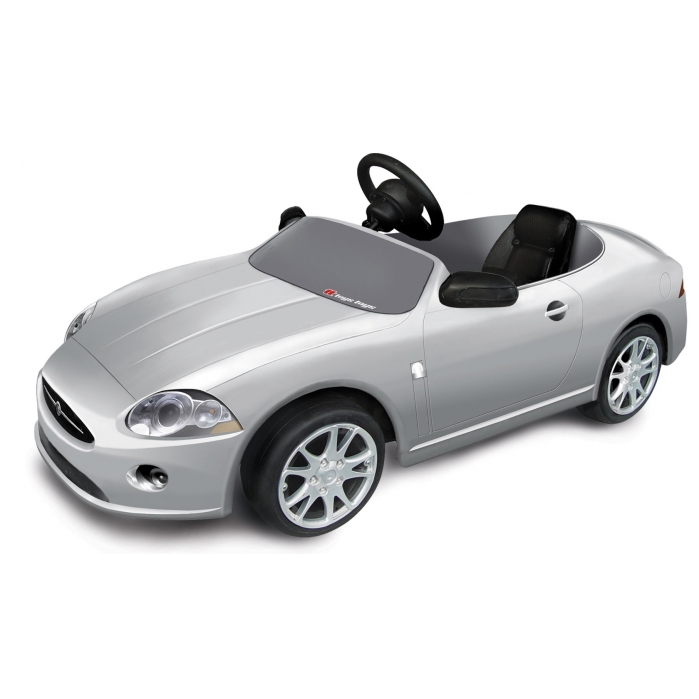childrens-prestige-silver-jaguar The Most Unbelievable 30 Realistic Kid Cars