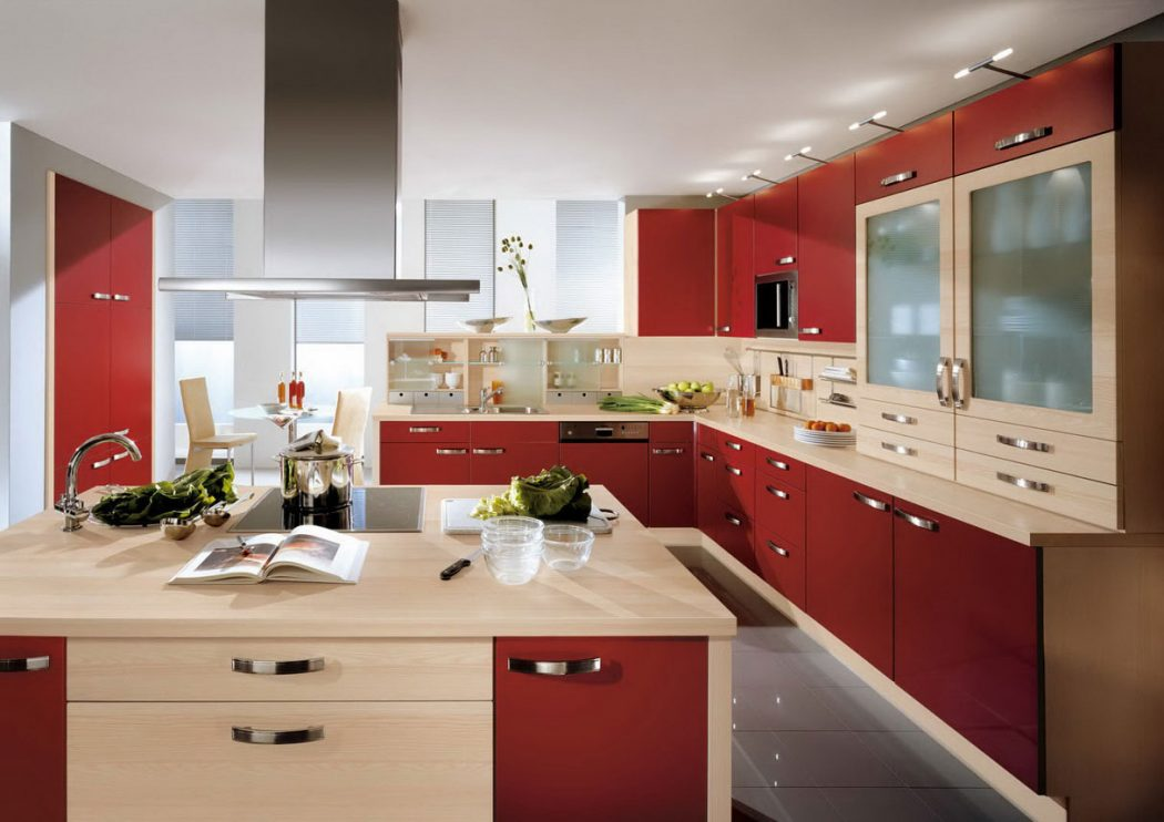 Perfect Red Kitchen Design Ideas 1215 x 859 · 154 kB · jpeg