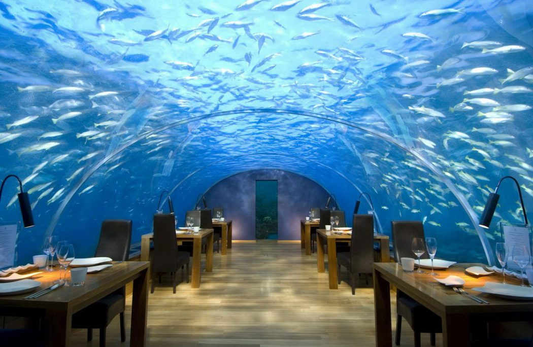 conrad-maldives-rangali-island-best-design-restaurant 23 Most Awesome Interior Designs for Restaurants