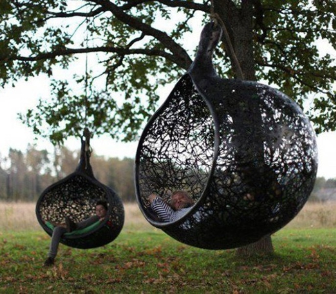 cool-hanging-chair-made-of-volcanic-rock 30 Most Inspiring Chairs