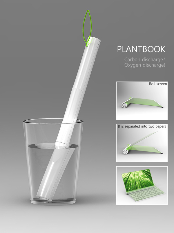 copy_0_plantbook1 Believe It Or Not, A Notebook That Is Charged By Being Put Into Water