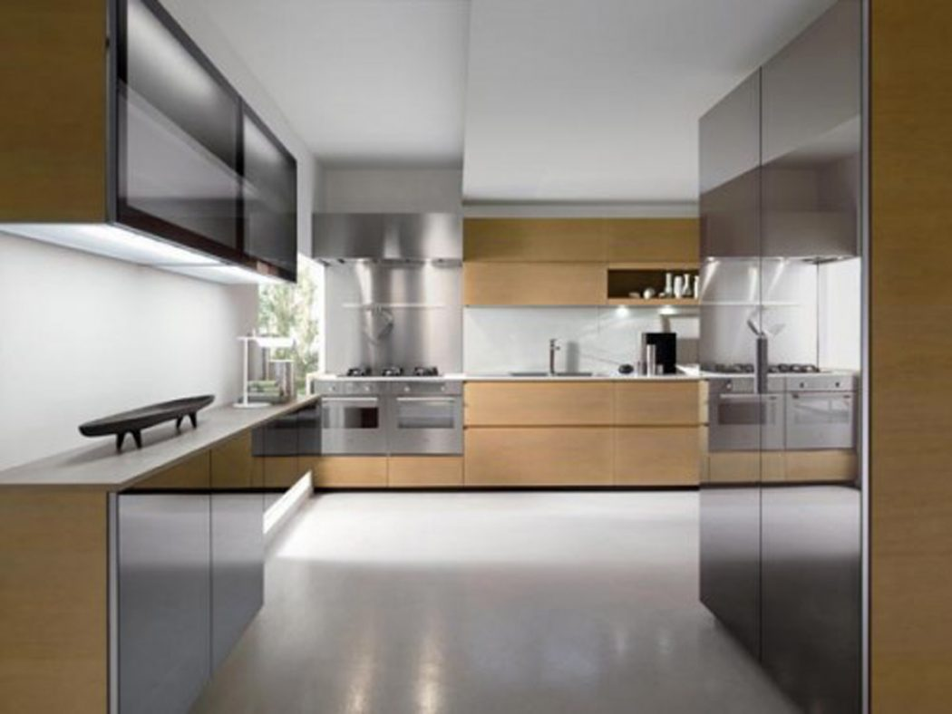 15 creative kitchen designs pouted online magazine for Best contemporary kitchen cabinets