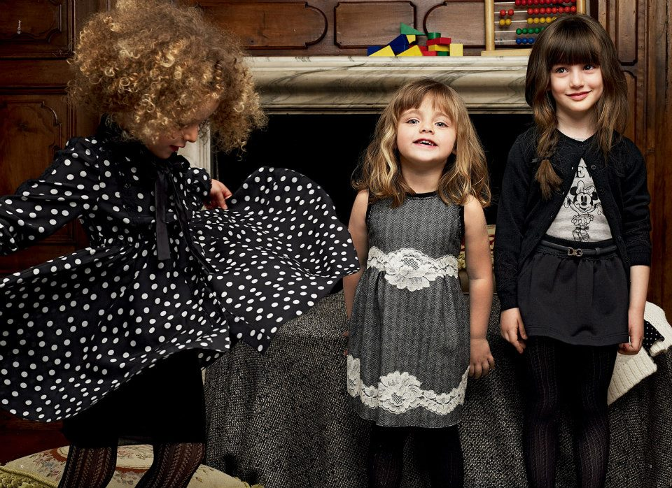 dg-bambino-kids-best-fall-winter-dresses-2013-by-dolce-gabbana-w +25 Most Stylish Kids Fashion Trends In Winter