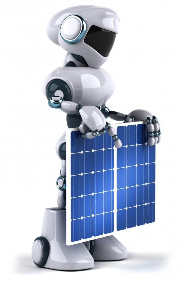 How Robots Help To Generate Solar Power Pouted Magazine