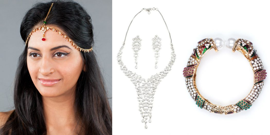Fashionable indian accessories bangles tikkas headpieces for Latest fashion jewelry trends 2012
