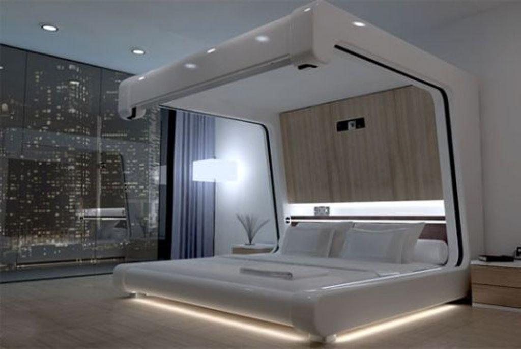 futuristic-bed 45 Marvelous Images for Futuristic Furniture