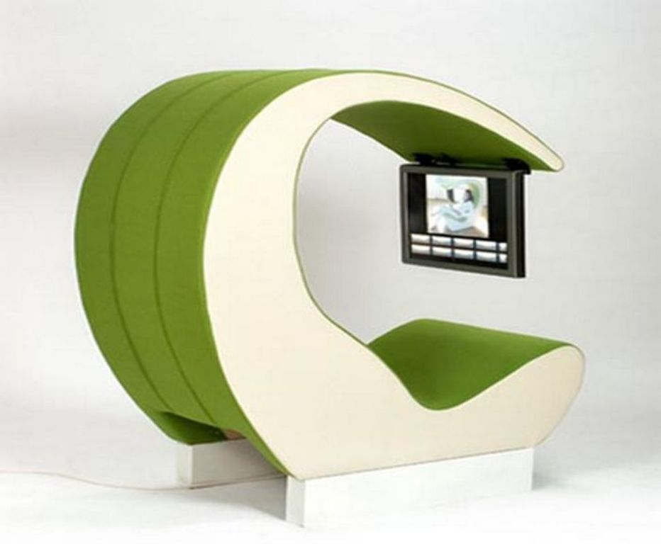futuristic-office-seating-designs-with-on-board-sound-system-and-screen-hang-1 45 Marvelous Images for Futuristic Furniture