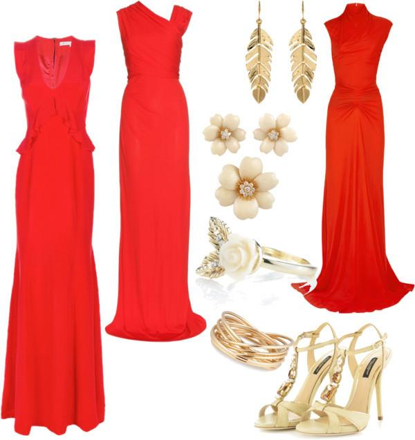 great-long-red-dress 10 Unique Red Long Dresses That You Really Deserve (Pictures)