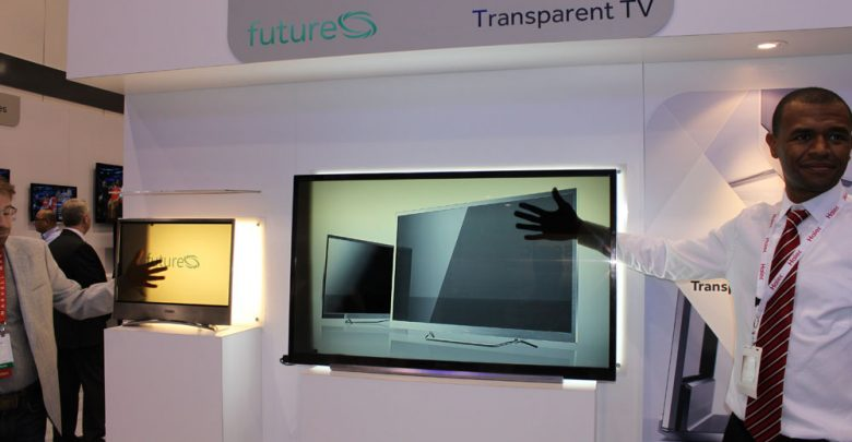Photo of Do You Believe You Can See Through This Transparent TV Screen?