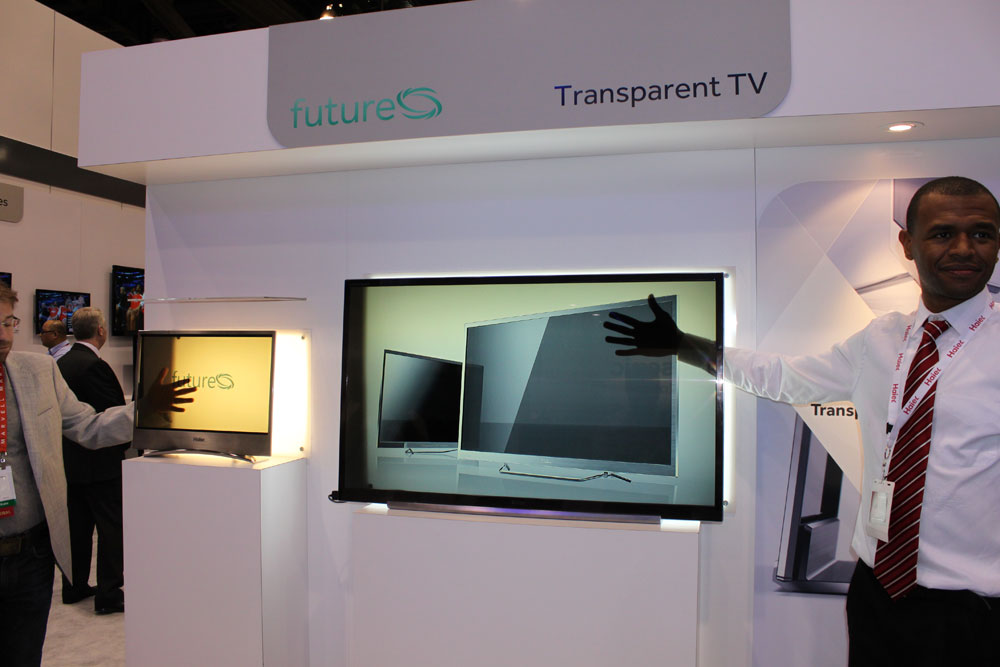haiertransparent46-1l Do You Believe You Can See Through This Transparent TV Screen?