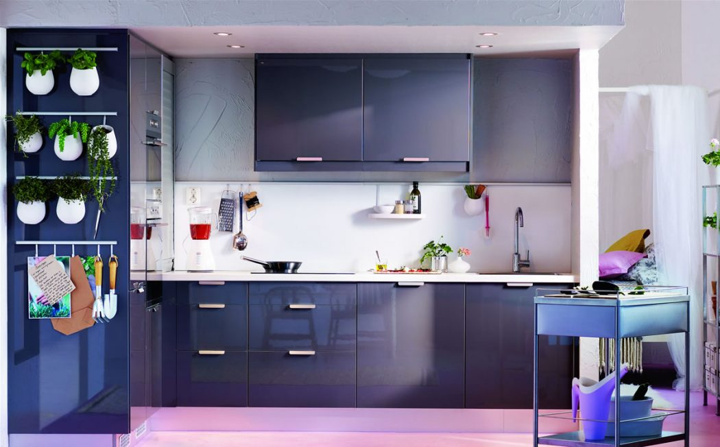 ikea_abstrakt_high-gloss-grey-kitchen-with-faktum-frame_gbp_126000 Love Your Work with IKEA Desks