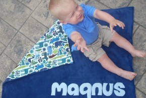 Stylish Personalized Blankets For Babies and Newborns