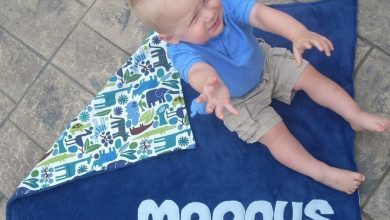 Photo of Stylish Personalized Blankets For Babies and Newborns