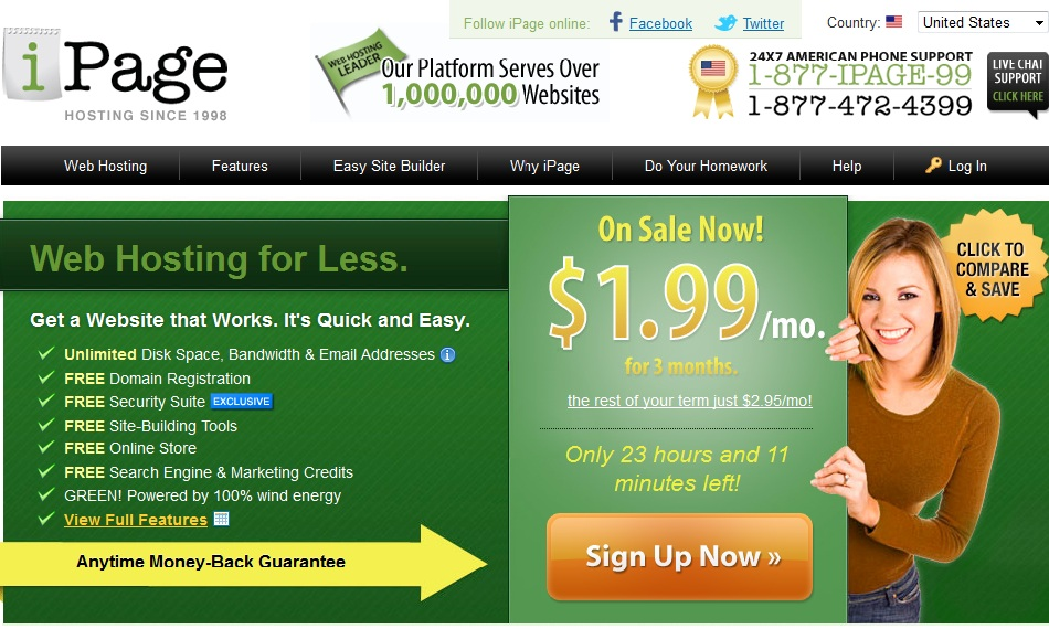 ipages-discount-hosting Top 5 Web Hosting Companies