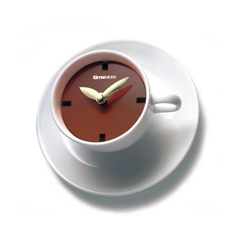 kaffeepause_creative_teacup-shaped_wall_clock2_1 Best 25 Creative Clock Ideas