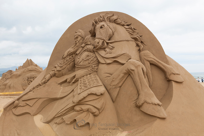 knight-and-horse The Best 10 Videos and 30 images for Sand Art
