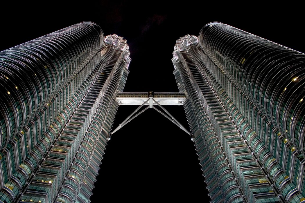 kul_petronas_towers_night What Are The Best 15 Skyscrapers in the World?