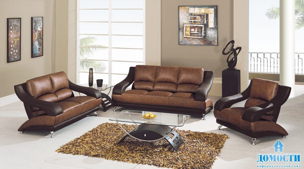 leather 15+ Helpful Ideas for Designing Your Living Room [Photos]
