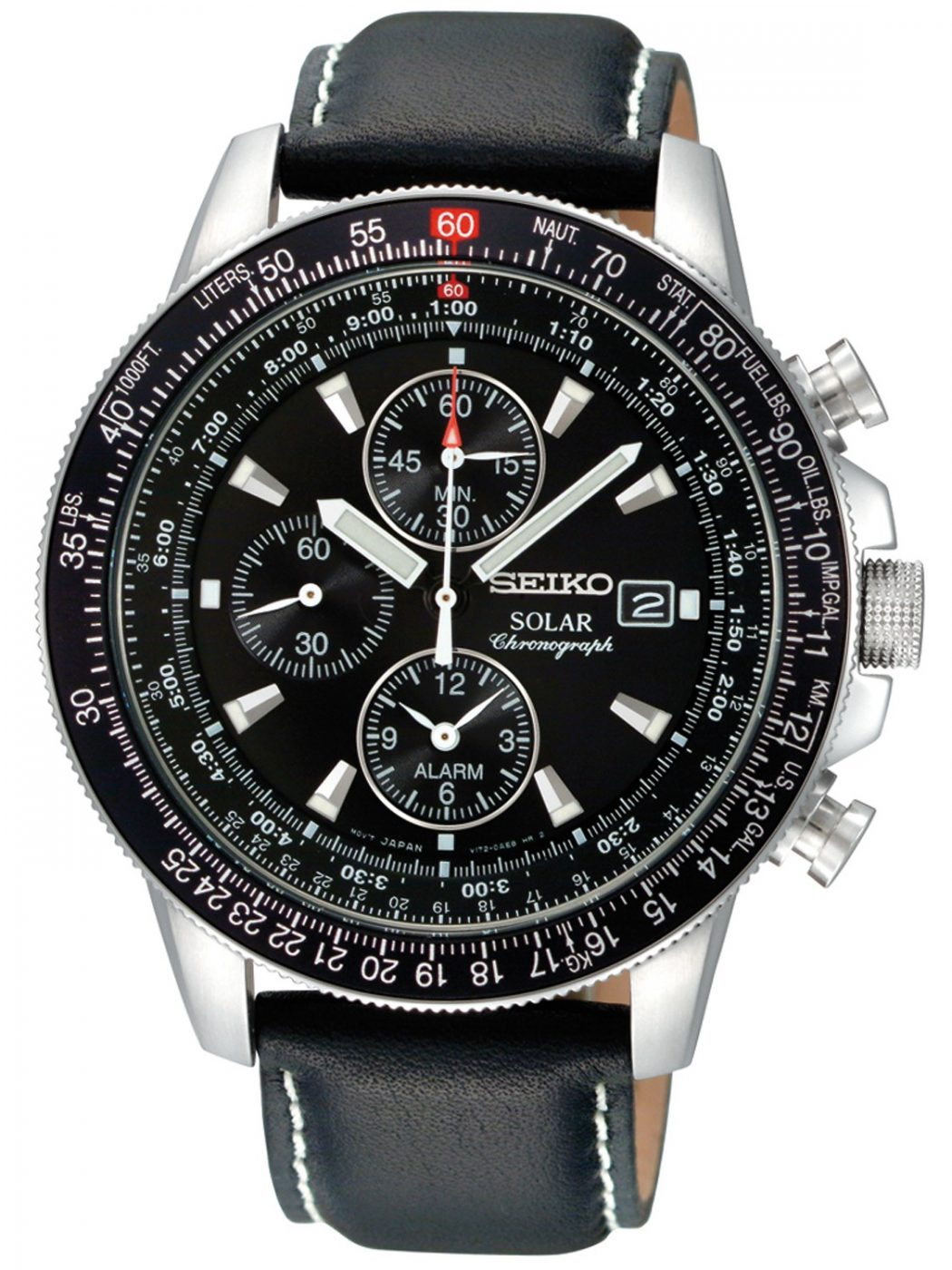 leather1 Most 35 Stylish Solar Powered Timepieces