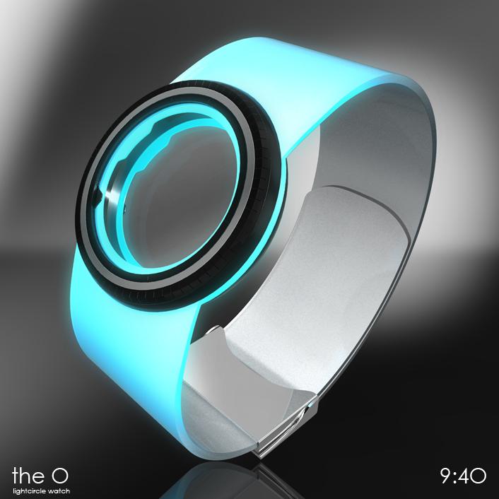 light_circle_watch_2 Top 35 Amazing Futuristic Watches