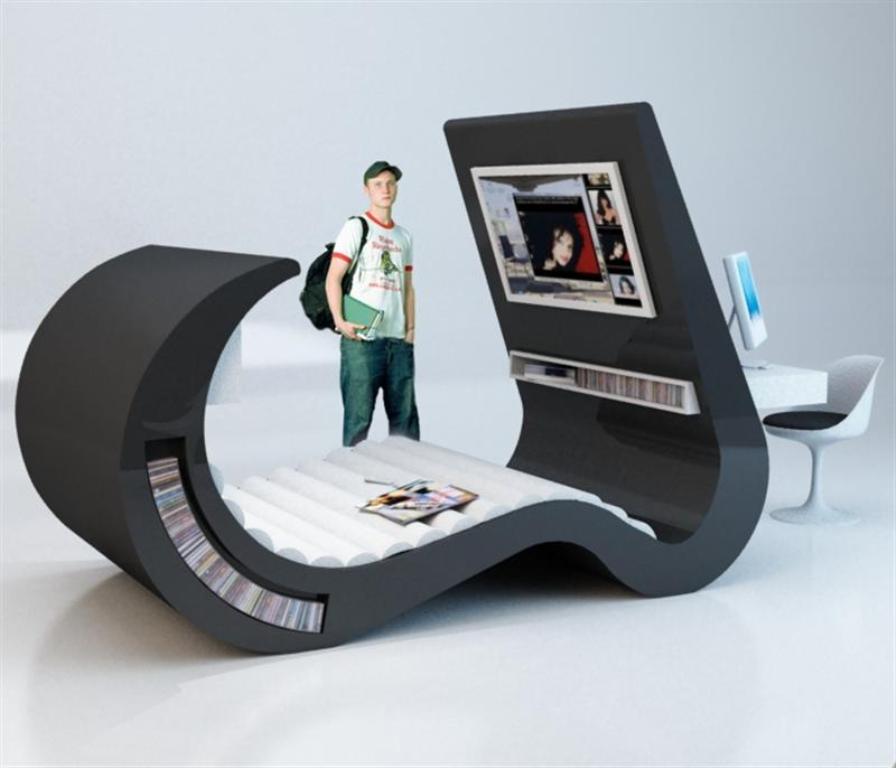 modern-bed-design 45 Marvelous Images for Futuristic Furniture