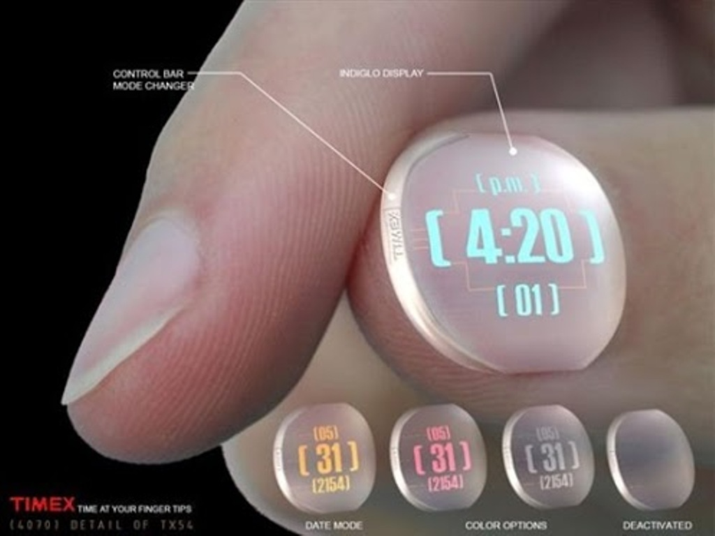 nail-watch1 The Most 10 Transparent Watches in The World