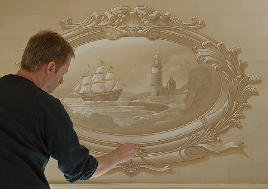 painting 45 Stunning 3D Paintings for Decoration
