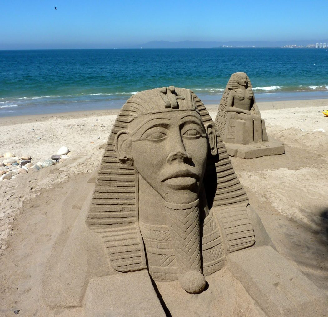 pharaonic-SandSculpture The Best 10 Videos and 30 images for Sand Art