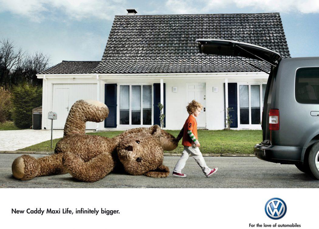 print-ad-funny-vw-teddy 23 Funniest Print Ads