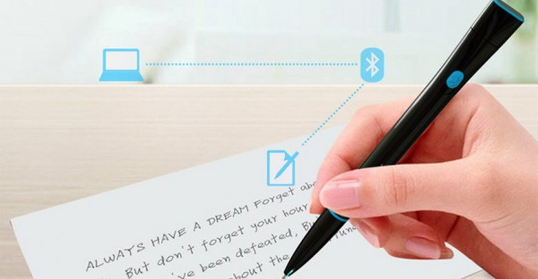 Photo of Magic Pens That Converts Written Notes into Electronic Files