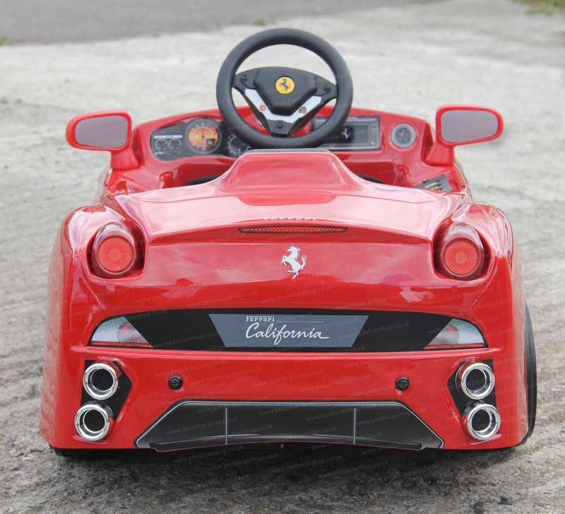 ride-on-ferrari The Most Unbelievable 30 Realistic Kid Cars