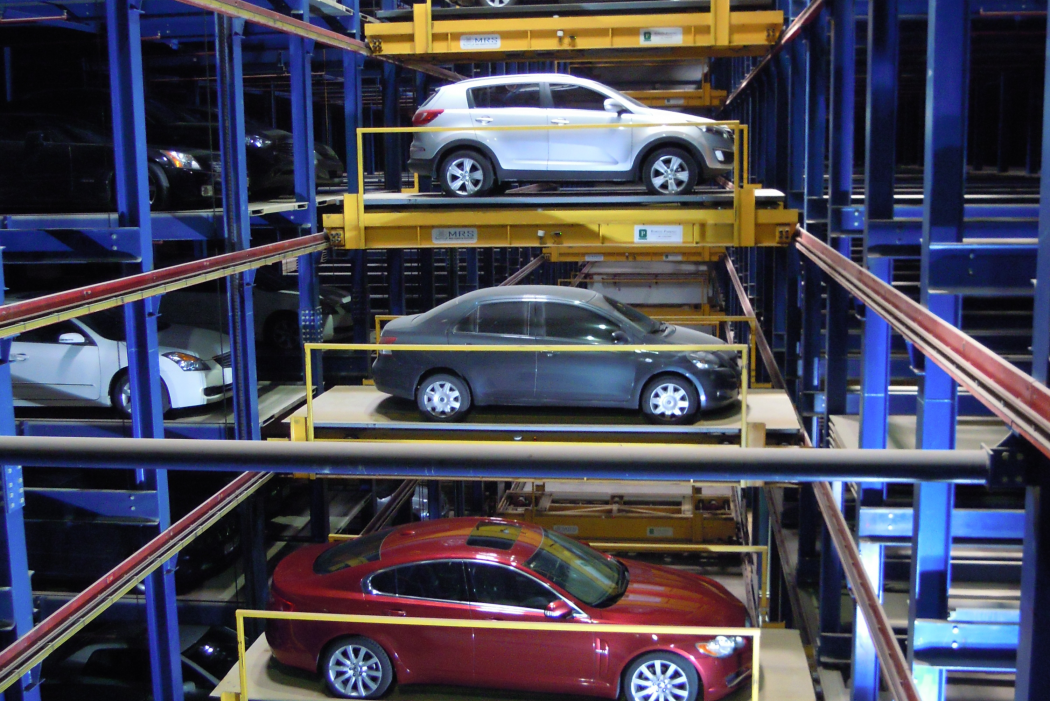 robotic-parking-section Fully Automated Car Parking Systems