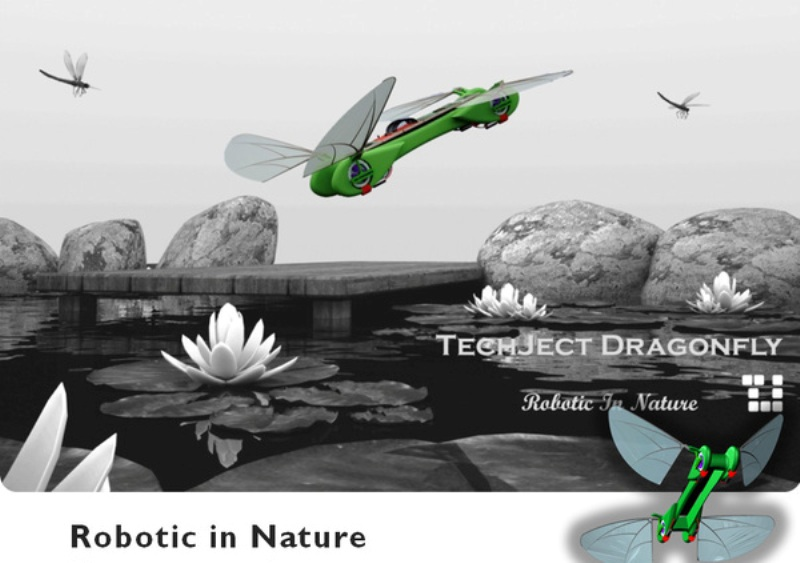 robotic. Robotic Dragonflies That Will Dazzle You