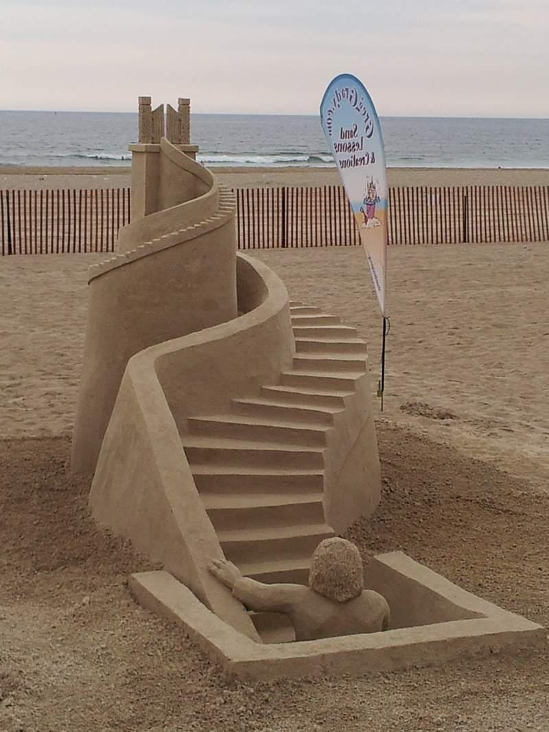 sculptors-choice-stairway-to-heaven The Best 10 Videos and 30 images for Sand Art