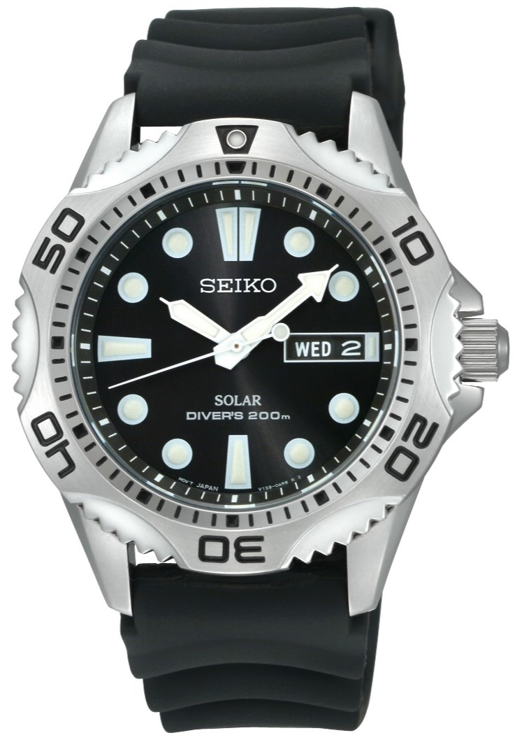 seiko-200m Most 35 Stylish Solar Powered Timepieces