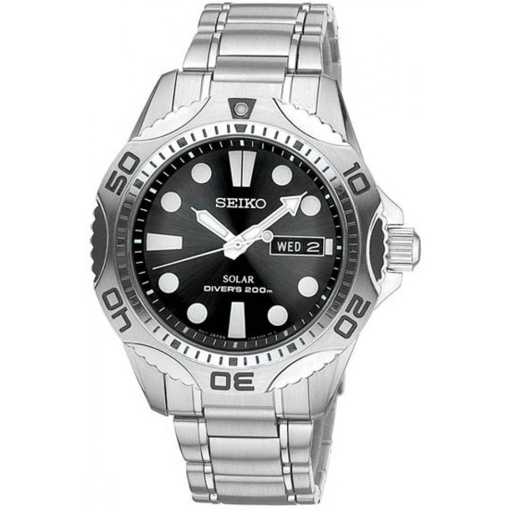 seiko-SNE107 Most 35 Stylish Solar Powered Timepieces