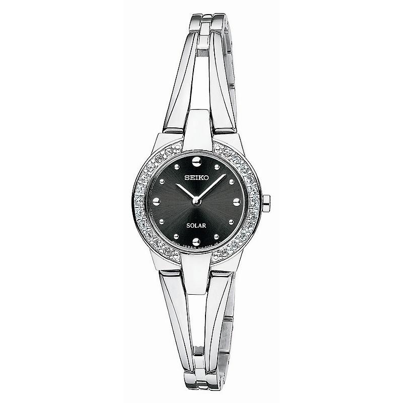 seiko-womens-solar-watch-w-swarovski-element-accents Most 35 Stylish Solar Powered Timepieces