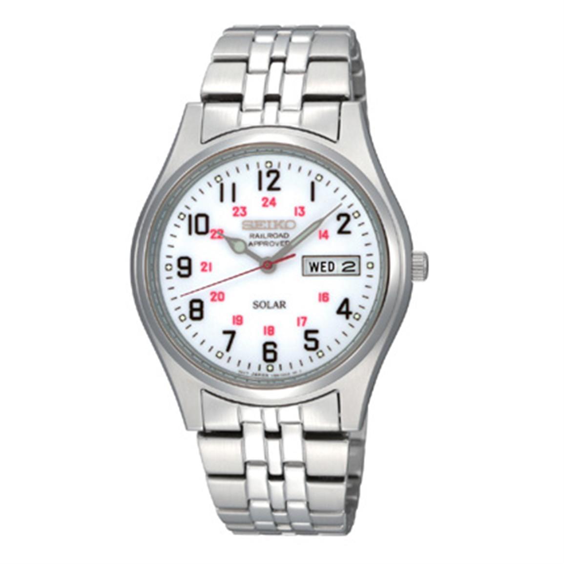 seiko Most 35 Stylish Solar Powered Timepieces