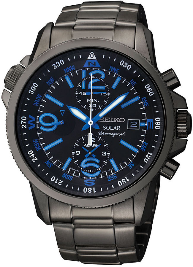 solar-seiko Most 35 Stylish Solar Powered Timepieces