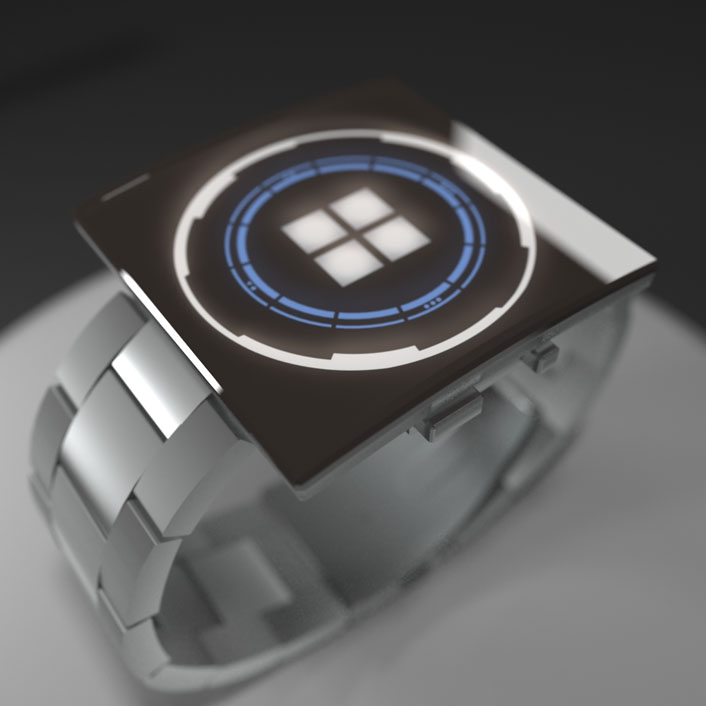 square-shaped Top 35 Amazing Futuristic Watches