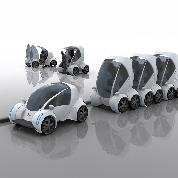 stackable-car The Most Stylish 25 Futuristic Cars