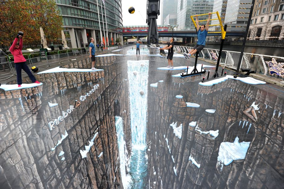 street. 45 Stunning 3D Paintings for Decoration