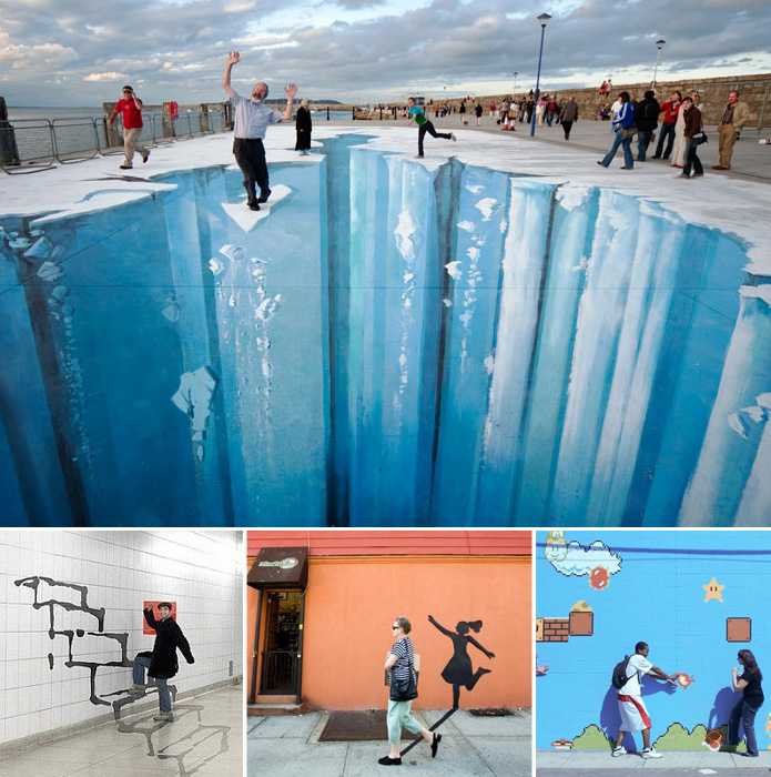 streetart 45 Stunning 3D Paintings for Decoration